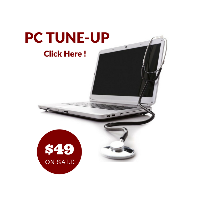 PC Tune Up On Sale | On Sale PC Tune Up | PC Tune Up Houston | www.RebootRemedy.com